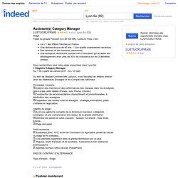 Emploi Assistant(e) Category Manager - LUSTUCRU FRAIS - Lyon 6e (69)