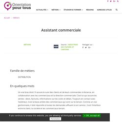Assistant commerciale
