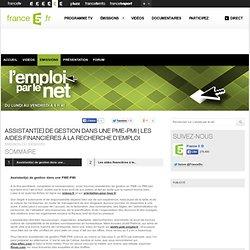Les aides financières à la recherche d'emploi - 10/09/2013 - News et vidéos en replay - L'emploi par le net
