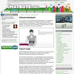Virtual Assistant – humanlike artificial agents for self-service areas