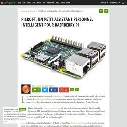 Picroft, un petit assistant personnel intelligent pour Raspberry Pi