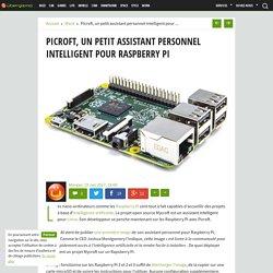 Picroft, un petit assistant personnel intelligent pour Raspberry Pi