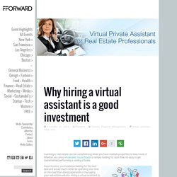 Why hiring a virtual assistant is a good investment
