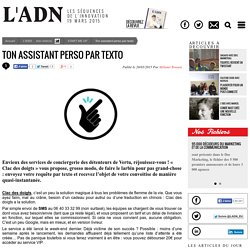 Ton assistant perso par texto - START ME UP