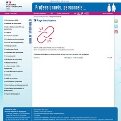 Assistant d'éducation - Professionnels