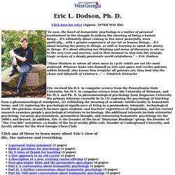Assistant Professor Eric Dodson