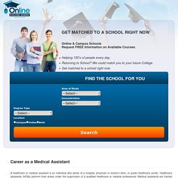 Top Online Medical Assistant Degrees, Programs and Colleges