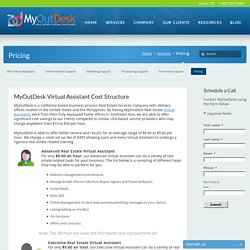 Virtual Assistant Price Structure