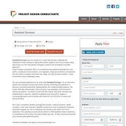Assistant Surveyor - San Diego, CA - Project Design Consultants Jobs