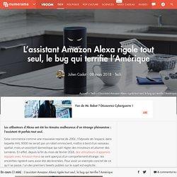 L'assistant Amazon Alexa rigole tout seul, le bug qui terrifie l'Amérique