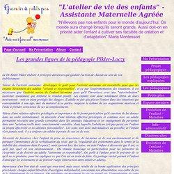 """Pédagogie Pikler-Loczy - """"L'atelier de vie des enfants"""" - Assistante Maternelle Agréée"""