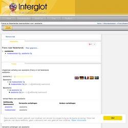 Interglot: vertaling Frans - Nederlands