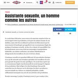Assistante sexuelle, un homme comme les autres