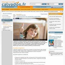 L'agrément pour les assistantes maternelles - Assistantes maternelles - Département du Calvados