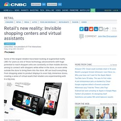 Retail's new reality: Invisible shopping centers and virtual assistants—commentary
