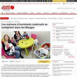 Les maisons d'assistants maternels se multiplient dans les Mauges - Cholet - Famille