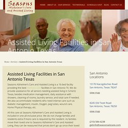 Finding Assisted Living Facilities with Memory Care - Seasons Alzheimer's Care and Assisted Living