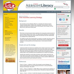 Peer-Assisted Learning Strategy