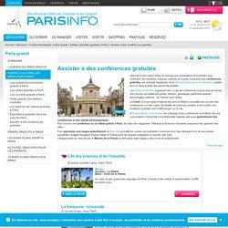 Assister à des conférences gratuites Paris
