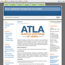 ATLA's Assistive Technology Blog