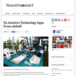 34 Assistive Technology Apps From edshelf
