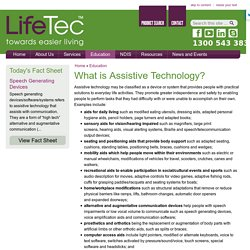 LifeTec - Towards Easier Living