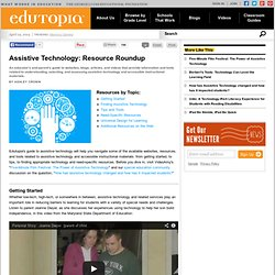 Assistive Technology: Resource Roundup