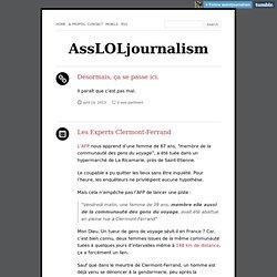 AssLOLjournalism