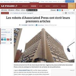 Les robots d'Associated Press ont écrit leurs premiers articles