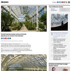 Donald Insall Associates restores Victorian glasshouse at Kew Gardens