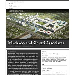 Machado and Silvetti Associates. Boston, Massachusetts