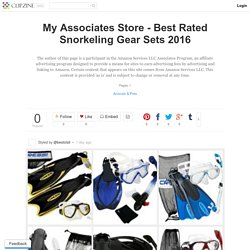 My Associates Store - Best Rated Snorkeling Gear Sets 2016