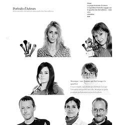 Portraits d'Acteurs » A la rencontre des acteurs associatifs des Dervallières