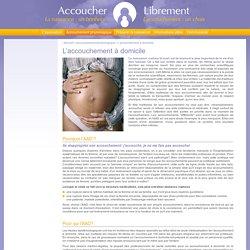 Association Accoucher Librement - L'accouchement à domicile