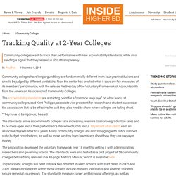 Community college association releases voluntary accountability measures