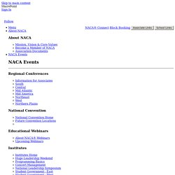 Pages - National Association for Campus Activities