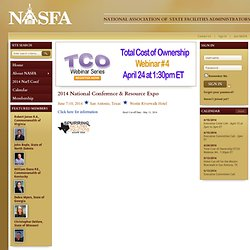 National Association of State Facilities Administrators (NASFA)