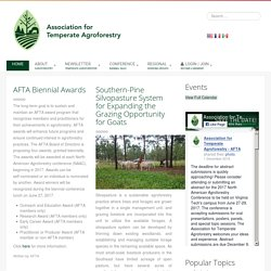AFTA - Association for Temperate Agroforestry