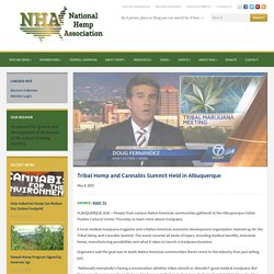 National Hemp Association – Tribal Hemp and Cannabis Summit Held in Albuquerque