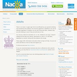 The National Association for Children of Alcoholics