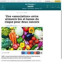 Une «association» entre aliments bio et baisse du risque pour deux cancers