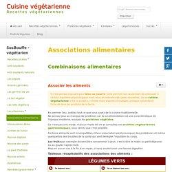 Association des aliments pour avoir une bonne nutrition