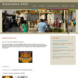 Association AADI : Alliance Armor Dupleix Inde à Morlaix