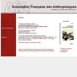 Association Francaise des Anthropologues