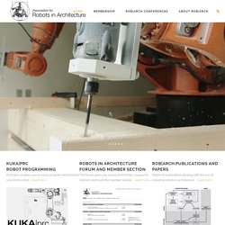 Association for Robots in Architecture -
