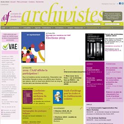 Association des Archivistes Fran