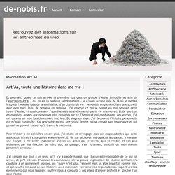 Association Art'As - de-nobis.fr