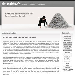 Association Art'As - de-nobis.fr