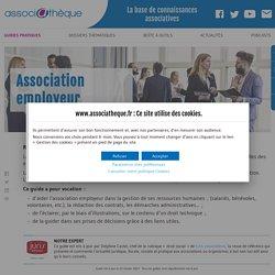 Association employeur – Guide et documents pratiques
