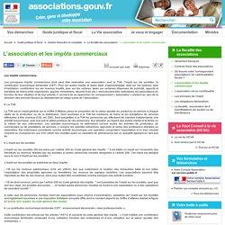 L'association et les impôts commerciaux